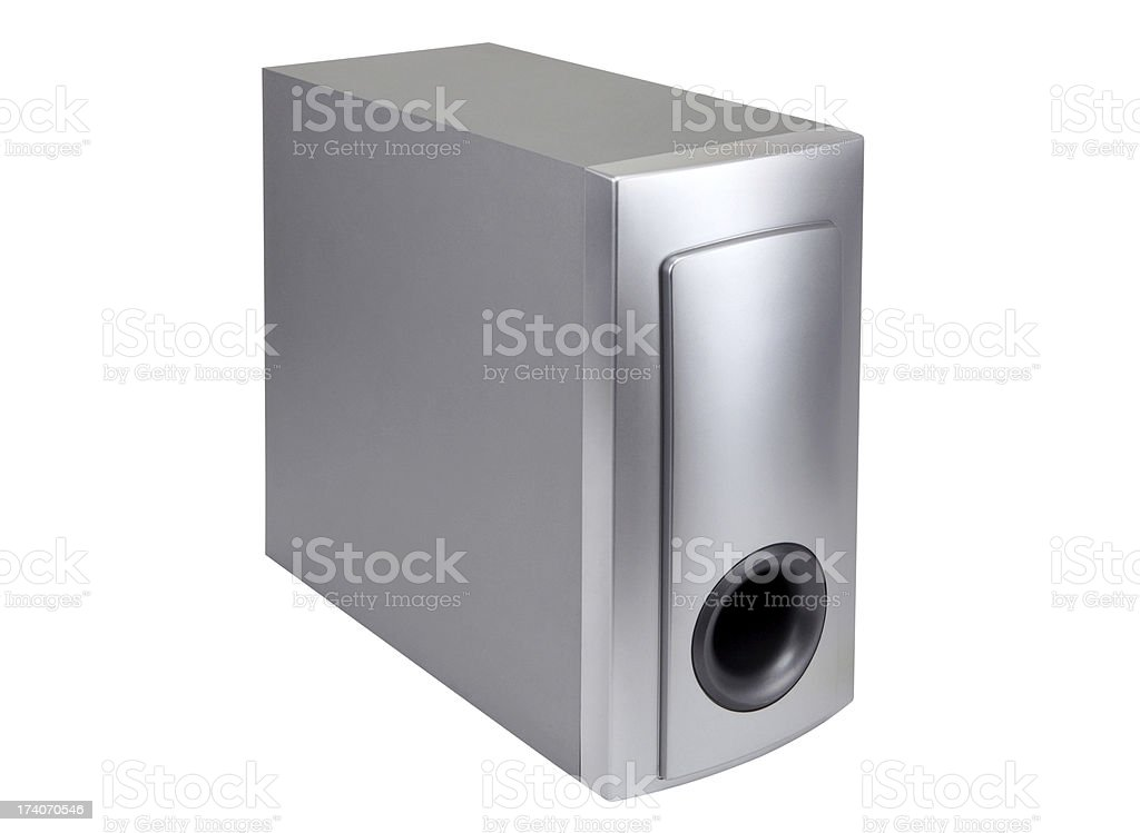 Loudspeaker+Clipping Path (Click for more) royalty-free stock photo