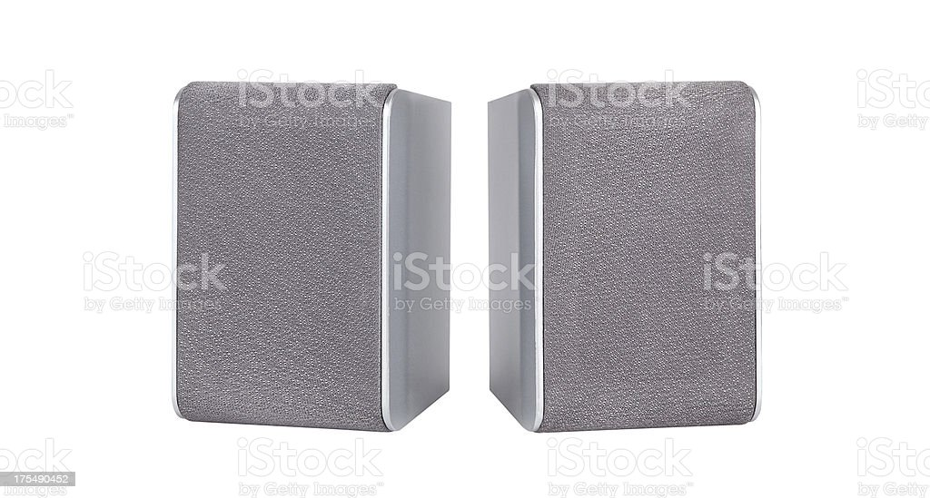 Loudspeakers+Clipping Path (Click for more) stock photo
