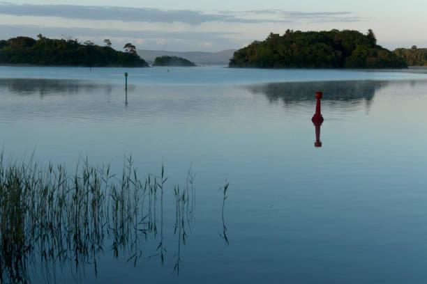Lough Corrib, Counties Galway and May, Ireland stock photo