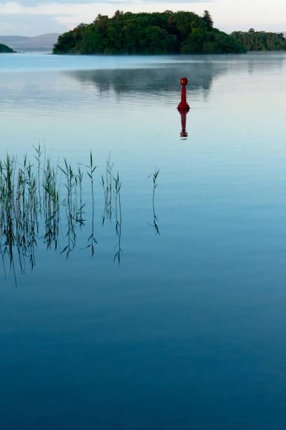 Lough Corrib, spring morning stock photo