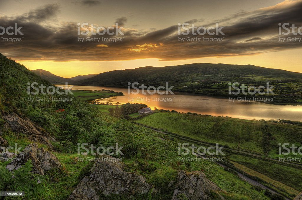 Lough Mask, Co Galway stock photo