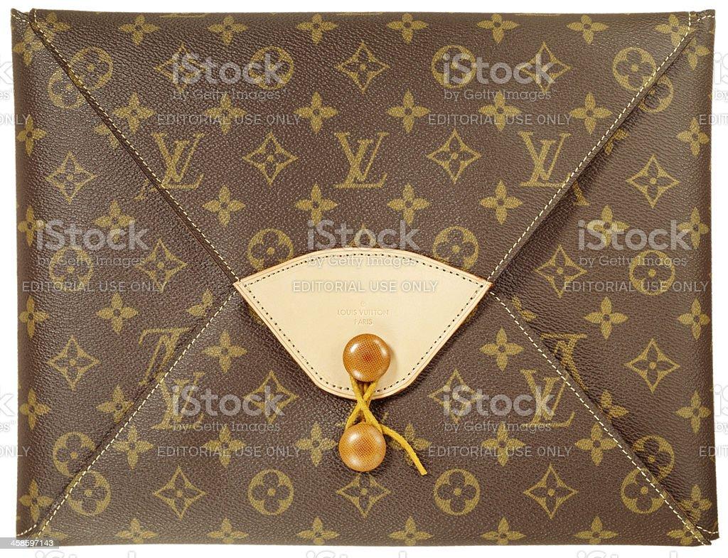 Louis Vuitton bag stock photo