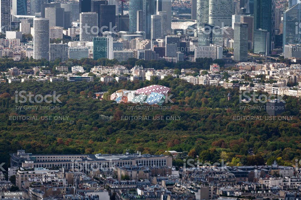 Fondation Louis Vuitton à Paris - Photo