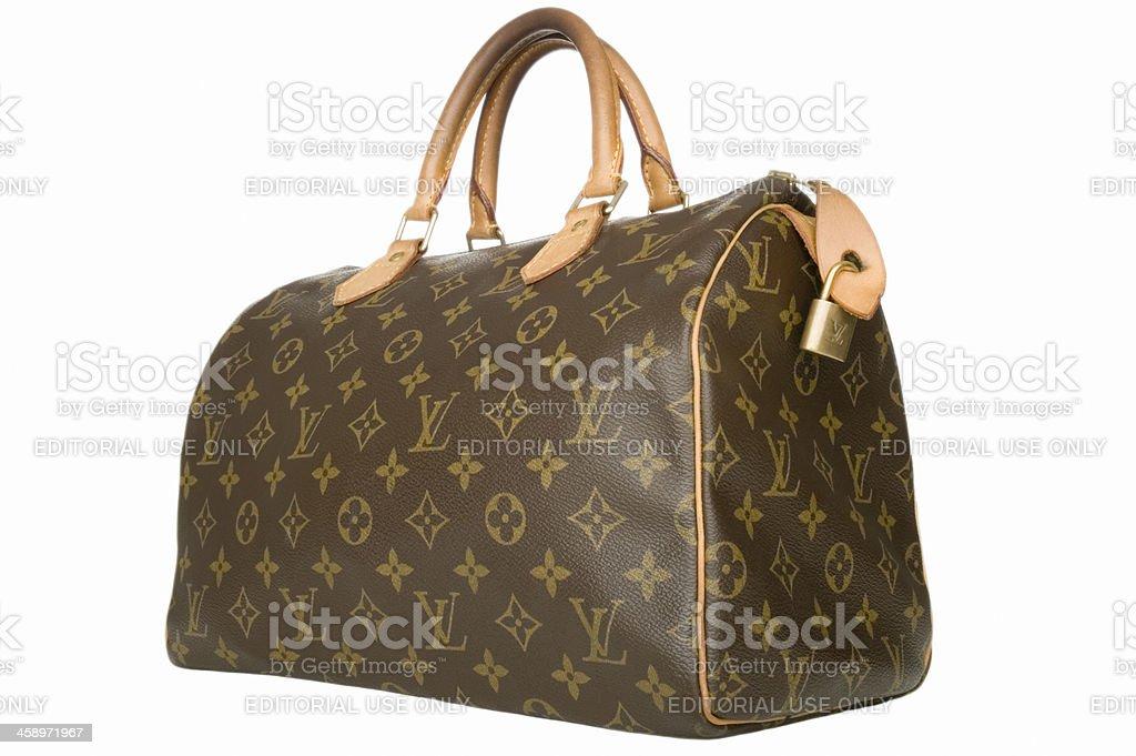Louis Vuitton handbag stock photo