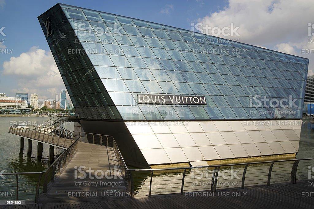 Louis Vuitton Island Store royalty-free stock photo