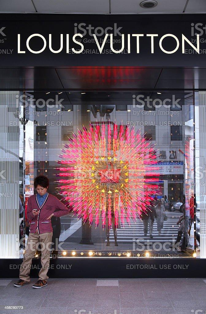 Louis Vuitton stock photo