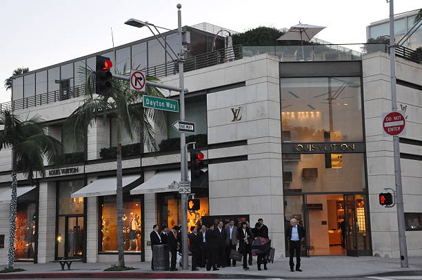 f4c1f46f2fe Louis Vuitton store at Rodeo Drive in Beverly Hills