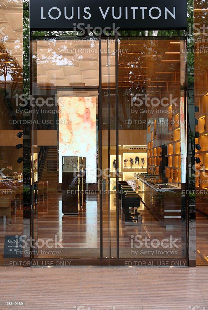 Louis Vuitton, Tokyo stock photo