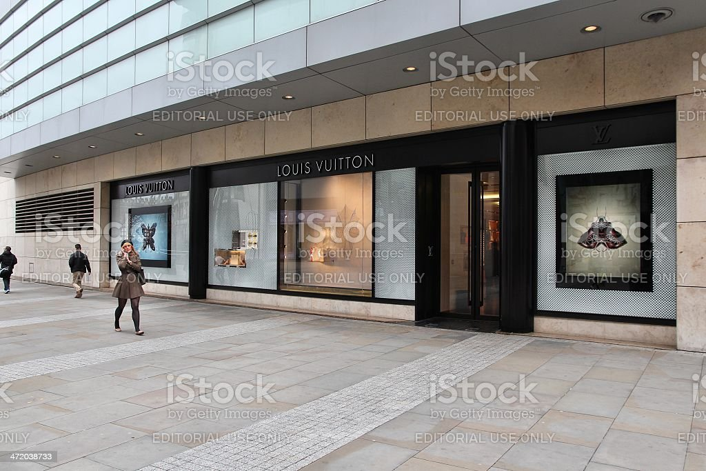 Louis Vuitton UK stock photo