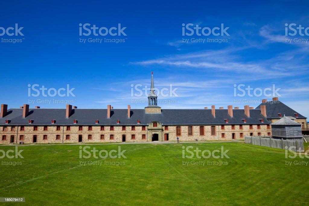 Louisbourg, Canada stock photo
