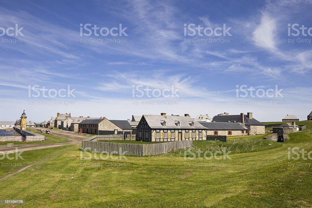 Louisbourg, Nova Scotia, Canada stock photo