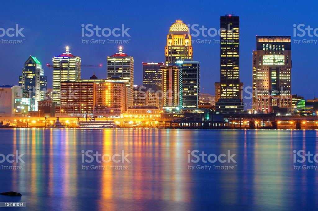Louisville Cityscape / Skyline stock photo