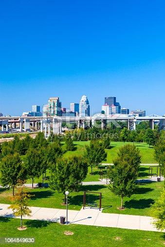 Skyline of Louisville, Kentucky, USA