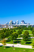 Skyline of Louisville, Kentucky, USA
