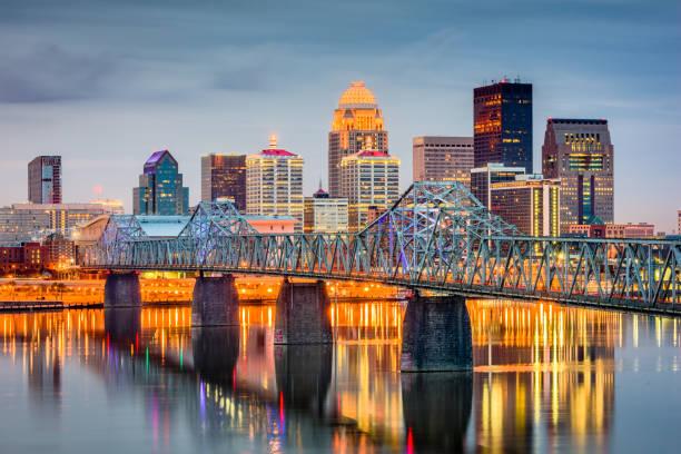Louisville, Kentucky, USA stock photo