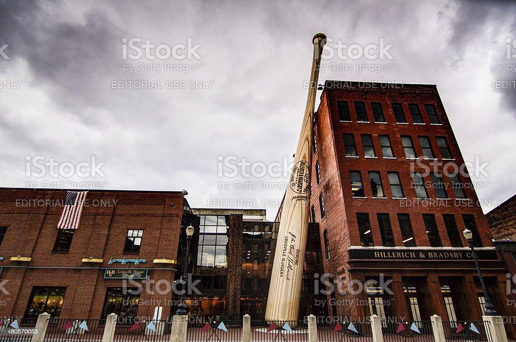 Louisville Slugger Factory stock photo