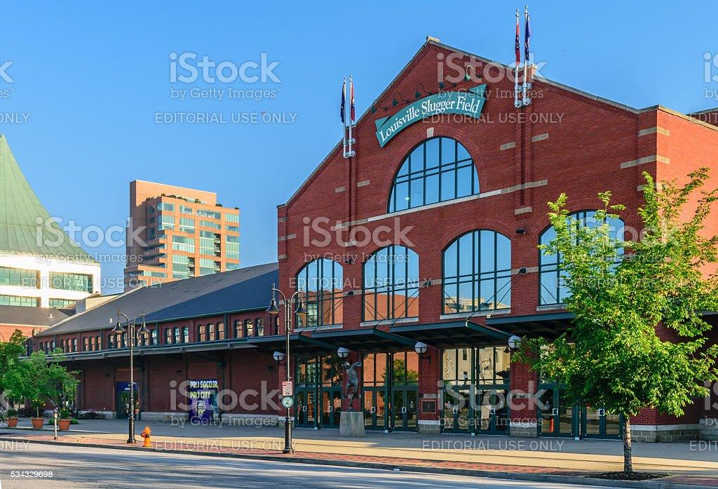 Louisville Slugger Field - Louisville Kentucky stock photo
