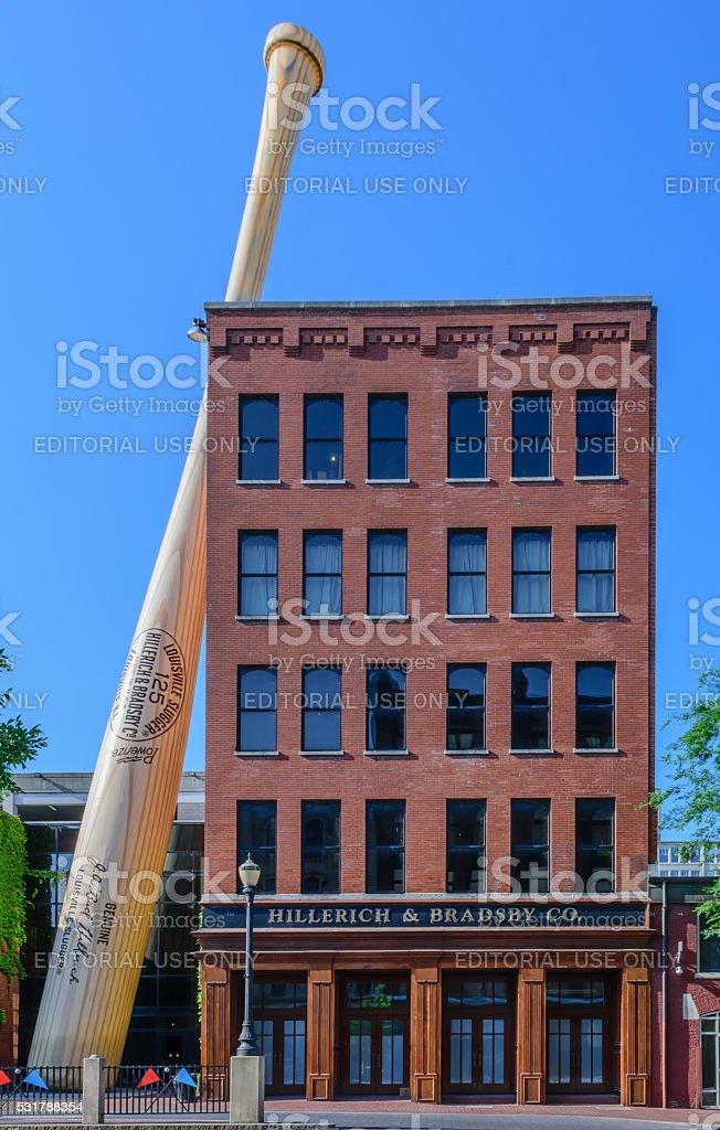 Louisville Slugger Museum & Factory stock photo