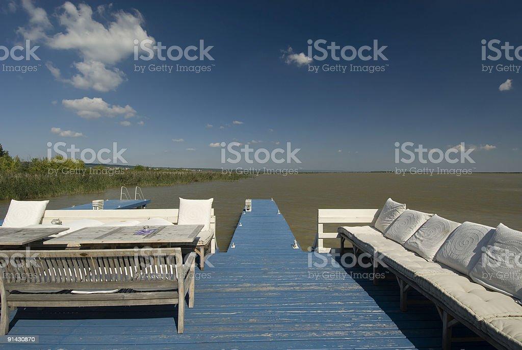 Loung Porch stock photo