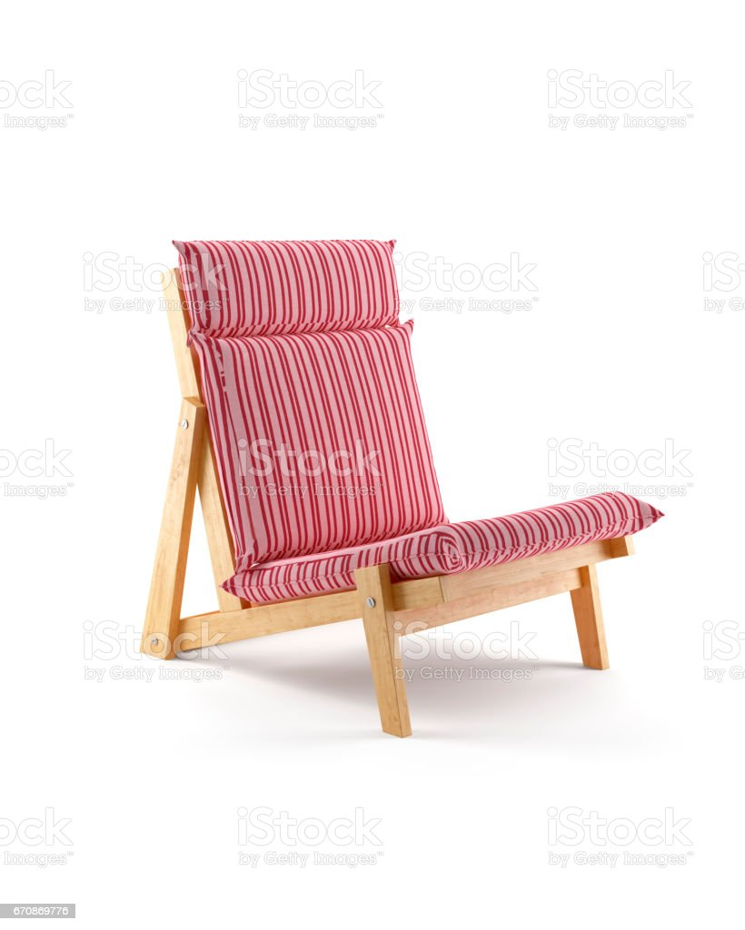 Lounge Chair Isolated on White Background stock photo  sc 1 st  iStock & Royalty Free Vintage Beach Chair Silhouette Pictures Images and ...