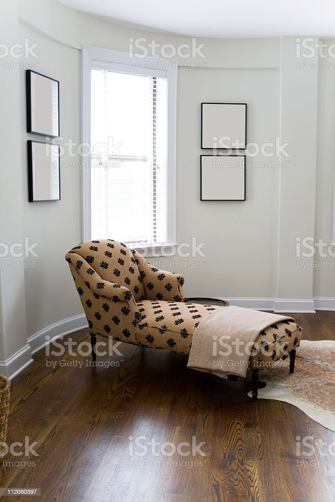 Chaise Lounge stock photo