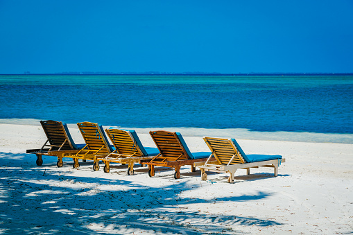 Outdoor Natural Gas Fire Pit Table, Lounge Chairs At Canareef Resort Maldives Herathera Island Addu Atoll Stock Photo Download Image Now Istock