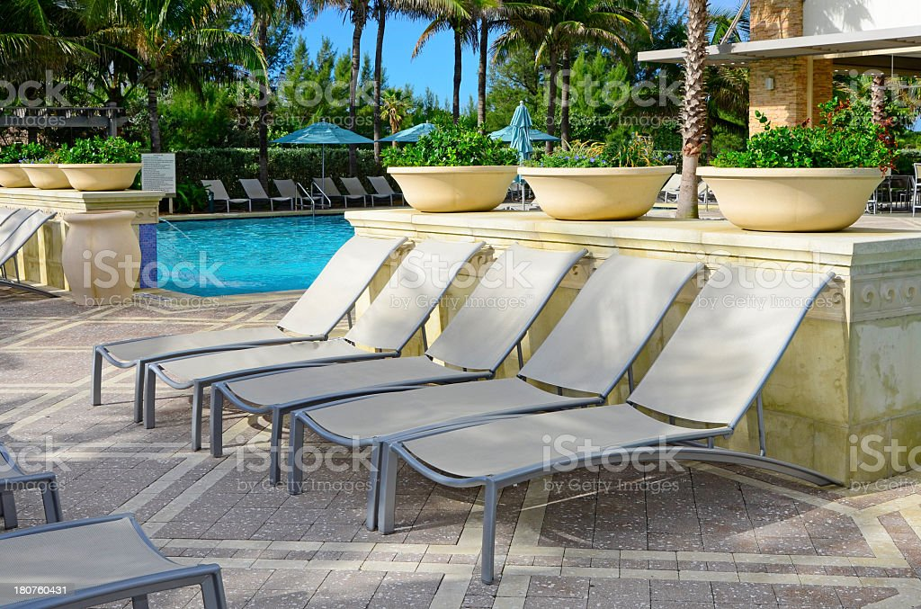 Lounge Chairs royalty-free stock photo