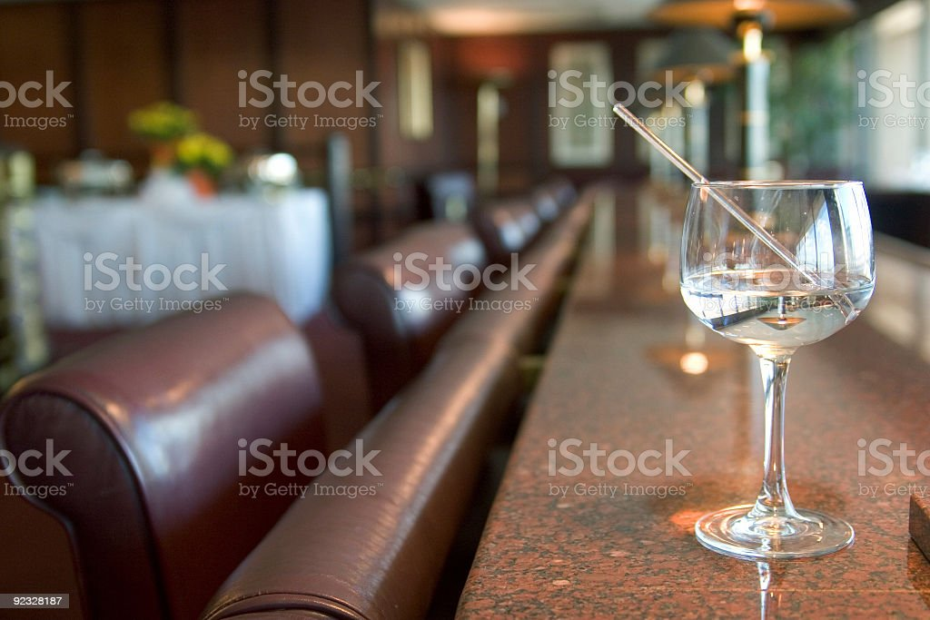lounge drink stock photo