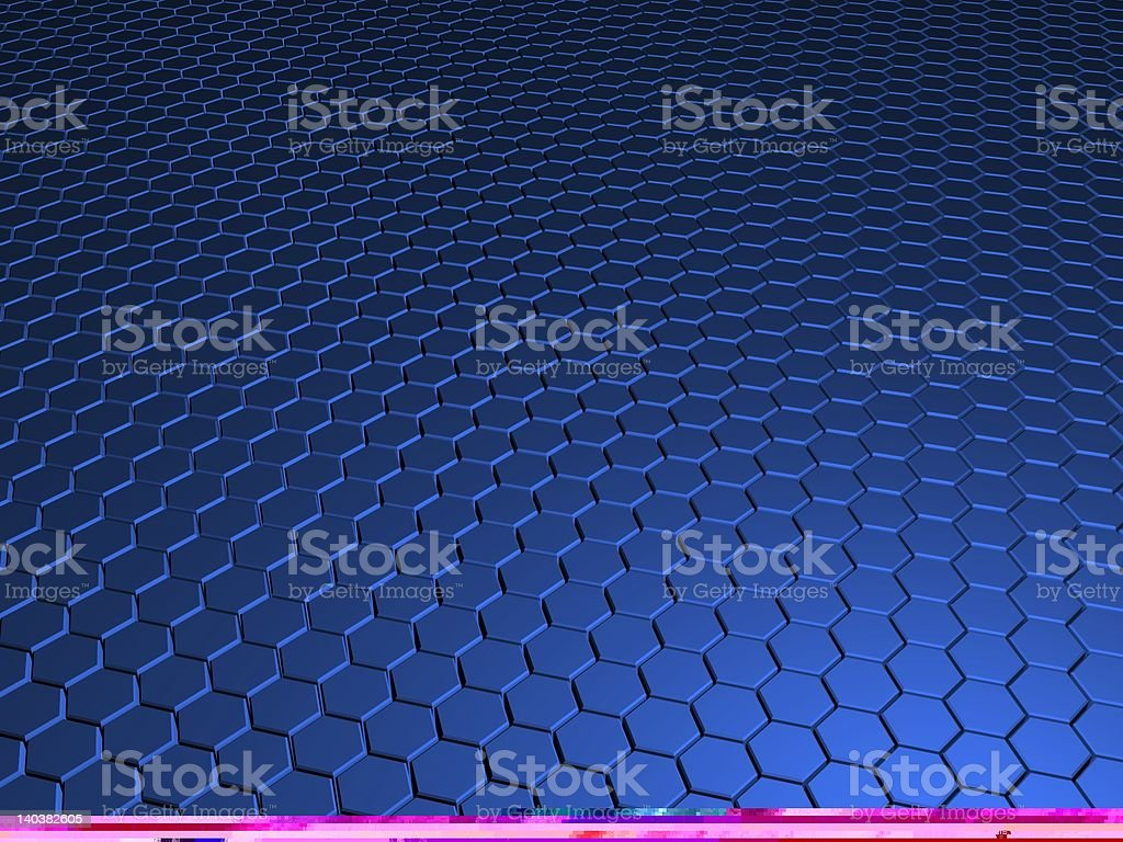 Lounge in Blue royalty-free stock photo