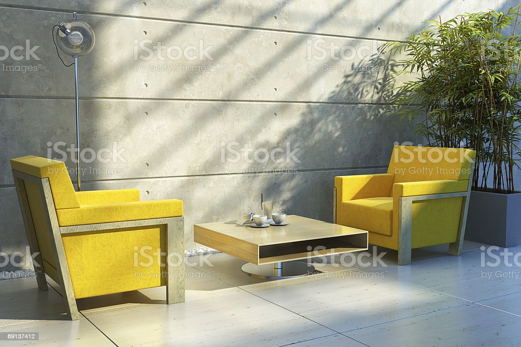 lounge room interior royalty-free stock photo