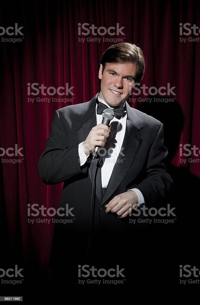 Lounge Singer royalty-free stock photo