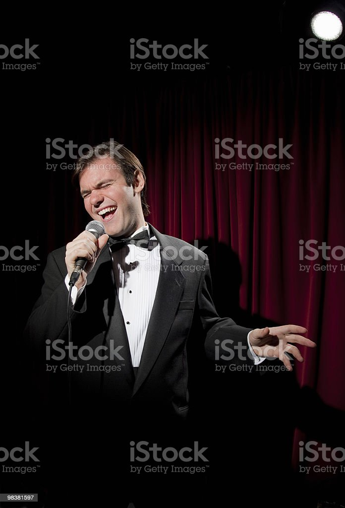 Lounge Cantante foto stock royalty-free