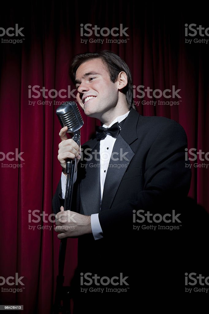 Lounge Singer royalty-free stock photo