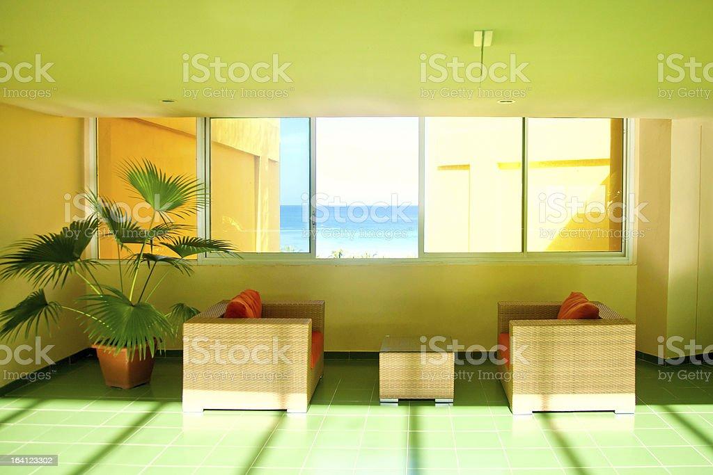 lounge zone royalty-free stock photo