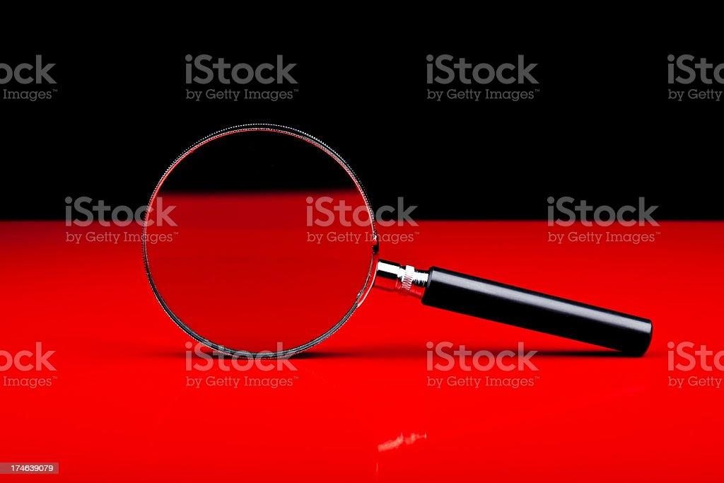 Loupe, isolated on background royalty-free stock photo