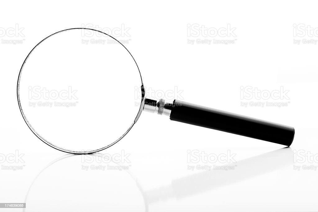 Loupe, isolated on white background royalty-free stock photo