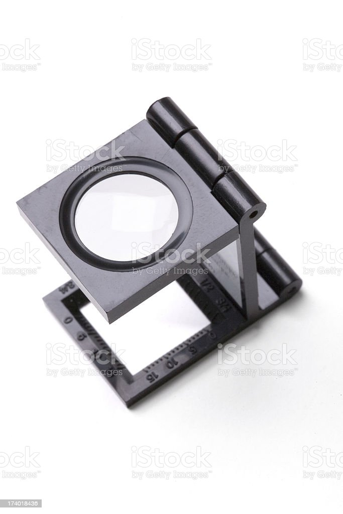 Loupe: Quality Inspection stock photo