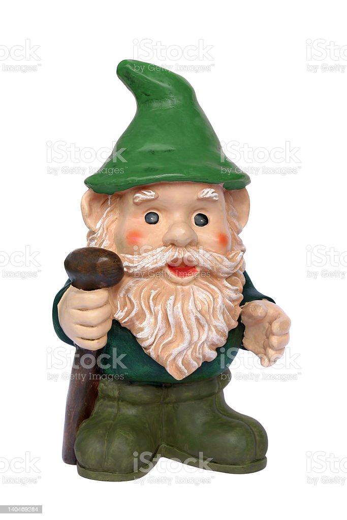 Lovable Leprechaun royalty-free stock photo