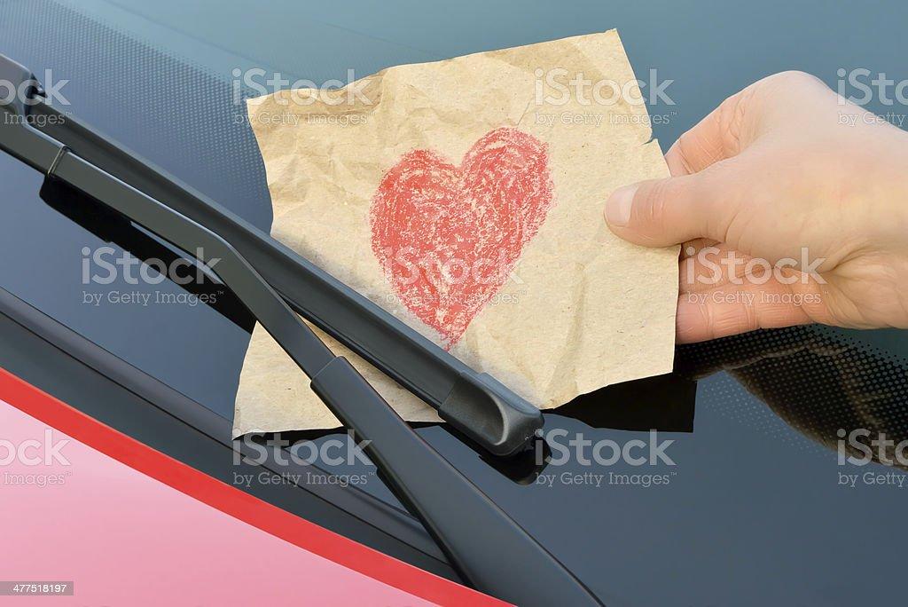 Amour-Amour Billet affaires - Photo