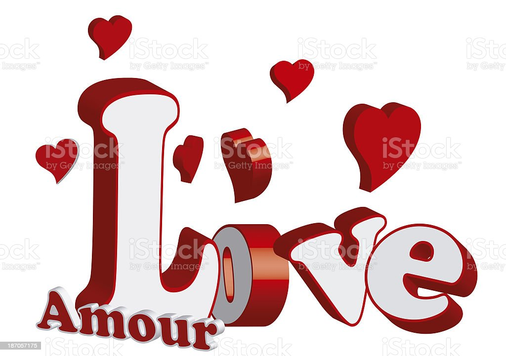 Love Amour Word Stock Photo Download Image Now Istock
