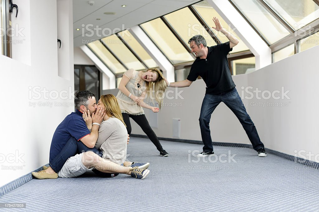 love and abuse stock photo