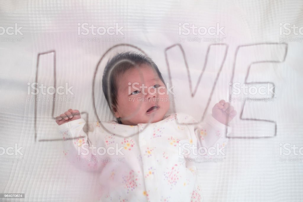 love and baby - Royalty-free 0-1 Months Stock Photo