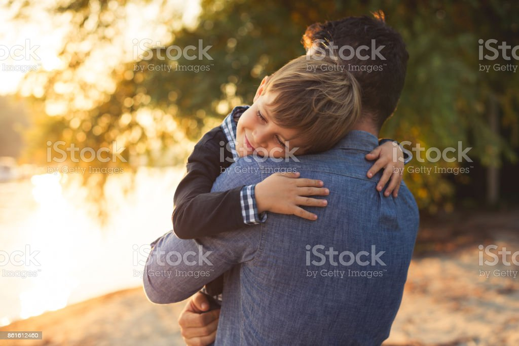 Love and family stock photo
