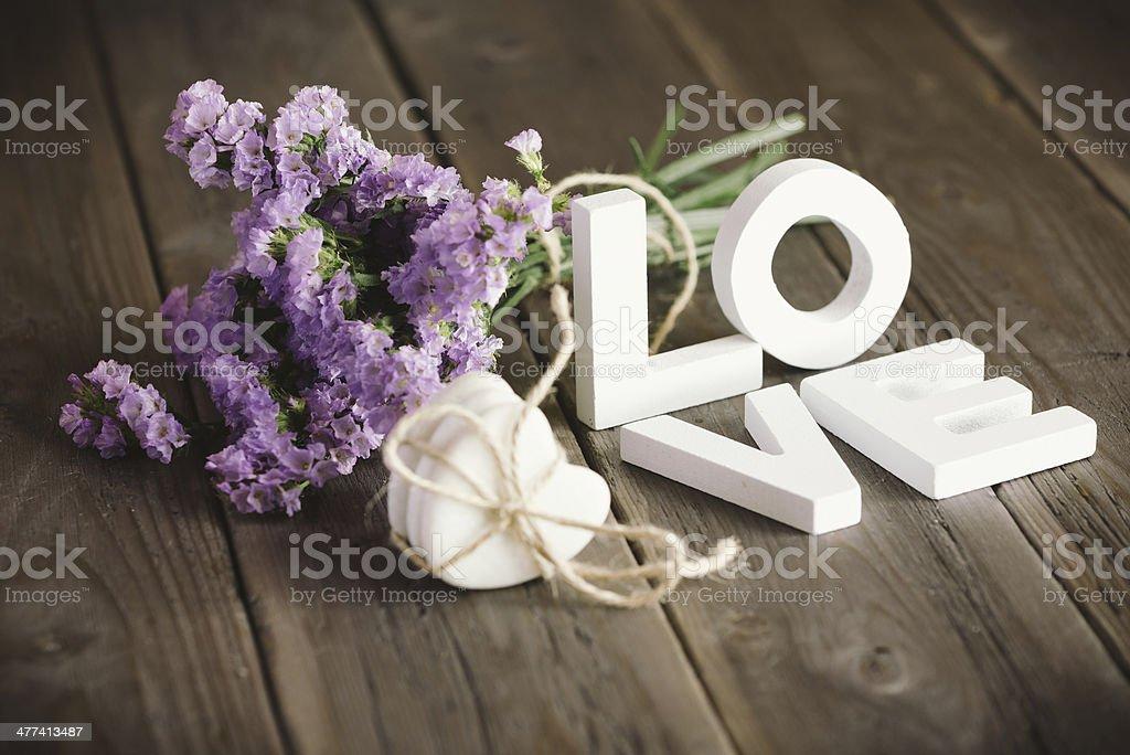 Liebe und Blumen – Foto
