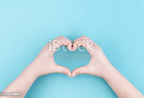 Father's Day, Valentine's Day - Holiday, Love - Emotion, I Love You, Blue Background