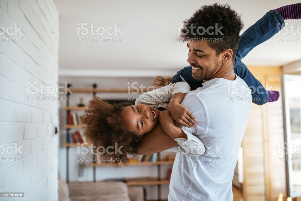 Love and laugh stock photo