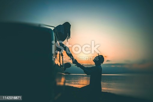 910783248 istock photo love and romance at the beach 1142016871