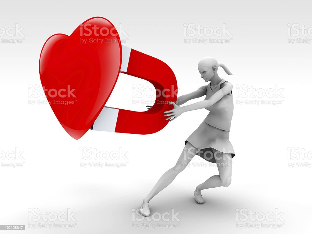 Love and Woman Desire stock photo
