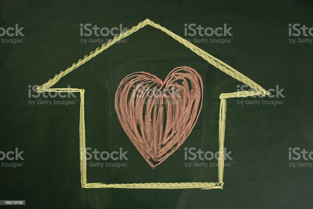 love at home stock photo