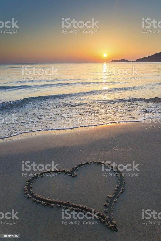 Liebe bei Sonnenaufgang – Foto